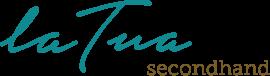 «La Tua» Secondhand-Boutique. Engagiert schön. Logo